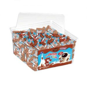 Lot de 100 mini oursons chocolat guimauve cémoi