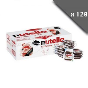 lot de 120 barquettes de nutella 15g