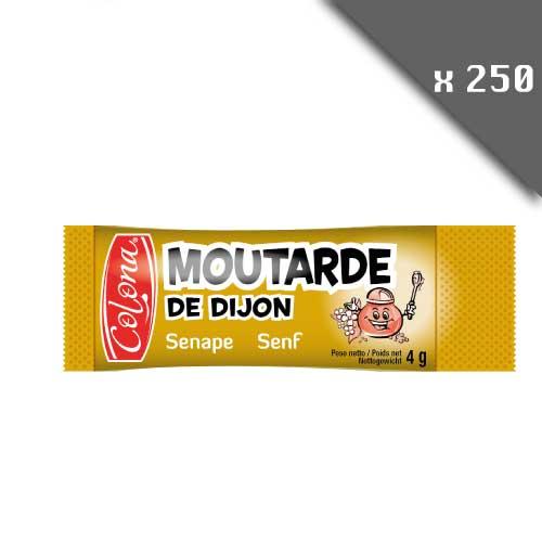Moutarde de Dijon en dosettes de 4g