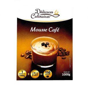 Préparation de mousse au café - 110 portions