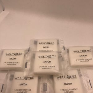 lot savon welcome 10g