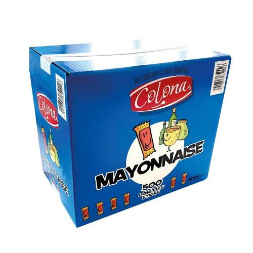 Lot de 100 Sticks individuels de mayonnaise de 10ml Lot de 500 Sticks individuels de mayonnaise de 10ml