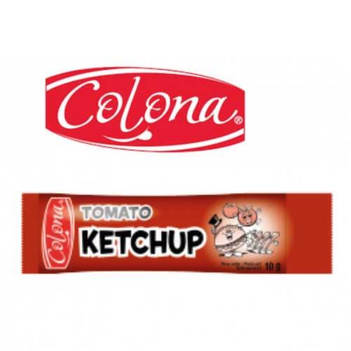 Lot de 500 sticks de ketchup individuels 10g, colona Sticks de sauce ketchup individuel de 10 grammes