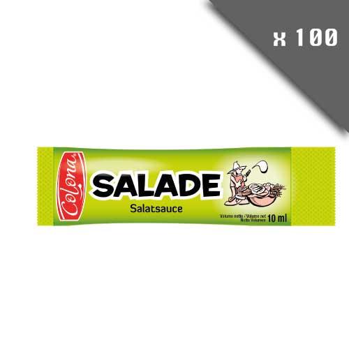 Lot de 100 sticks individuels sauce pour salade