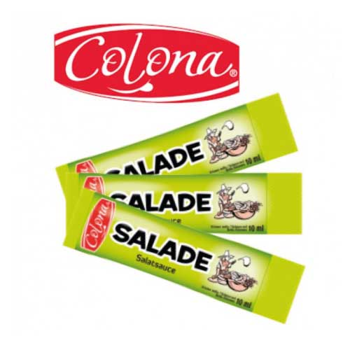 travel doz colona sticks sauce salade