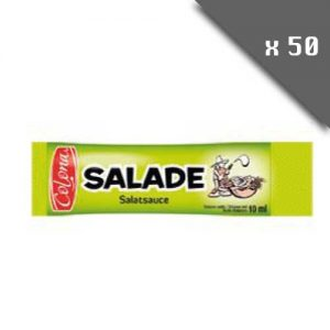 Sticks individuels sauce salade (10ml) - Lot de 50 pièces
