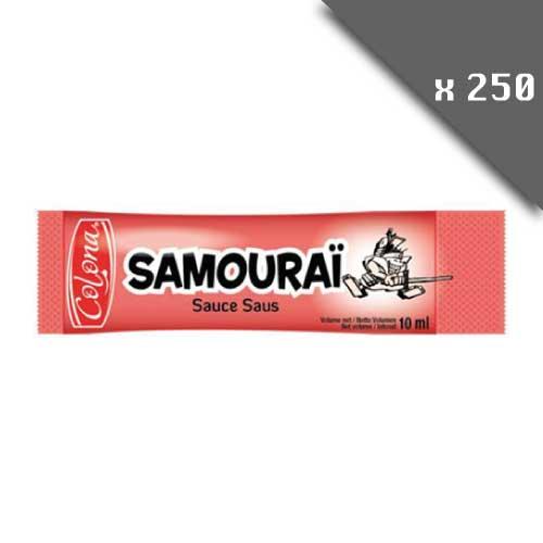 Dosettes individuelles sauce samourai 10ml lot de 250 dosettes individuelles