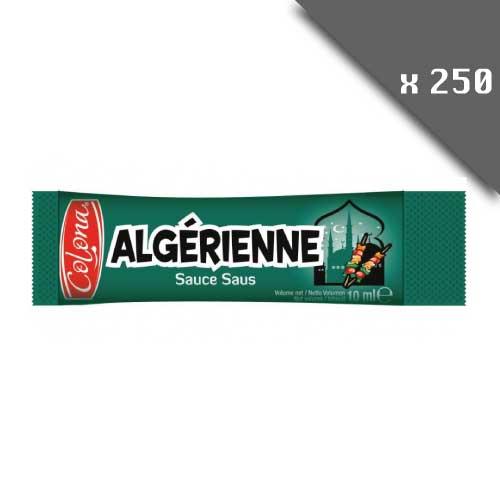 Dosettes individuelles sauce algérienne 10ml lot de 250 dosettes